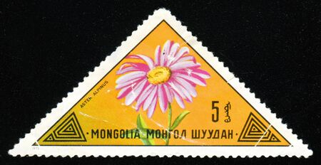 Vintage antique postage stamp from Mongolia Stock Photo - 3764776