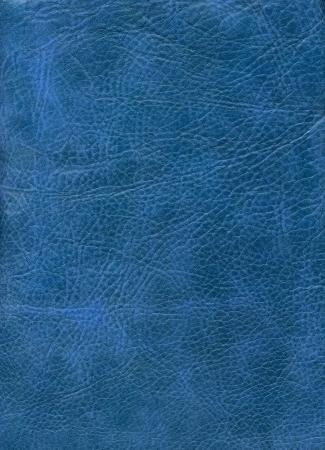Close-up natural blue leather texture to background Foto de archivo