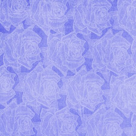 Beautiful abstract paper roses background photo