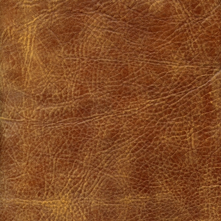 Brown leather texture to background Foto de archivo