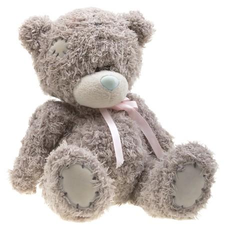 Bear zabawka izolowanych ponad białym tle