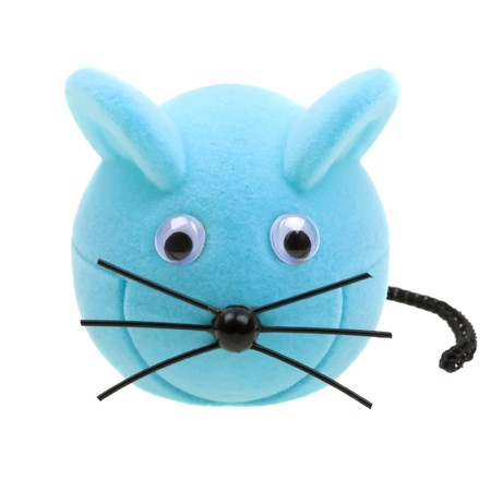 Funny mouse toy isolated on white background Stock Photo