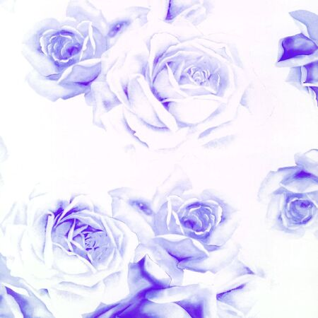 Close-up beautiful abstract paper roses background Stock Photo - 4656418