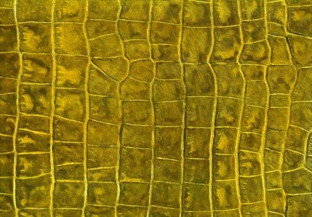 Gold reptile leather imitation texture to background
