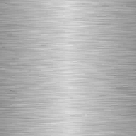 Brushed silver metallic background Stock Photo - 4698956