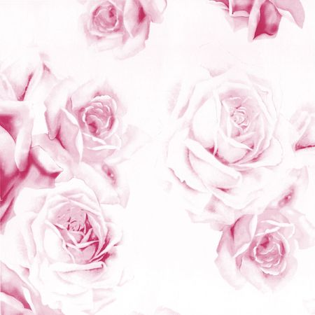 Close-up beautiful abstract paper roses to background photo