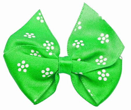 festal: Verde festa prua isolato su sfondo bianco