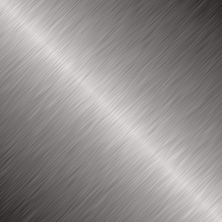 Brushed silver metallic background Stock Photo - 4741688
