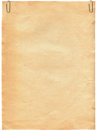 Vintage old paper texture with clip to background Stock Photo - 4784719