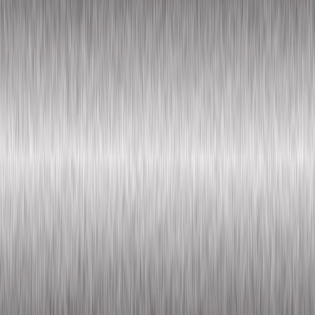 Brushed silver metallic background Stock Photo - 4784970