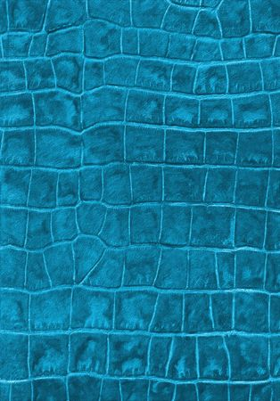 Cyan reptile leather imitation texture to background photo