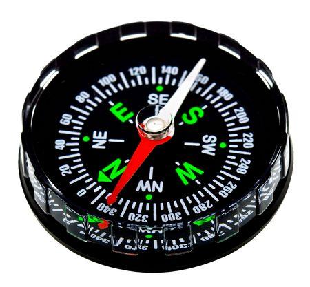 Kompas wyizolowanych na bia?ym tle Zdjęcie Seryjne