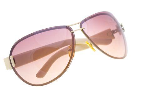 Okulary wyizolowanych na bia?ym tle