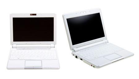 White notebooks isolated on white background Stock Photo - 5254613