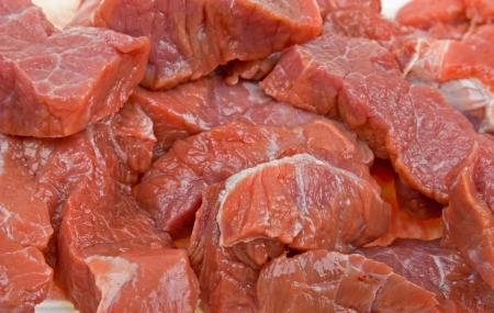 Close-up van vers vlees natuurlijke achtergrond