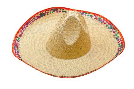 Sombrero isolated on white background Stock Photo - 6802469