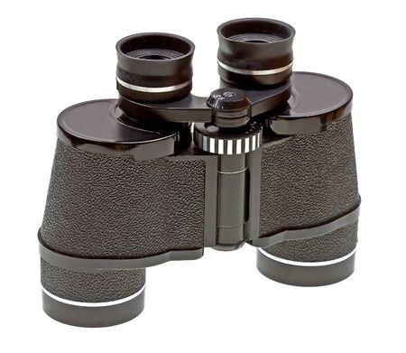 Binocular wyizolowanych na bia?ym tle