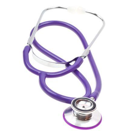 Phonendoscope, stethoscope isolated on white background Stock Photo