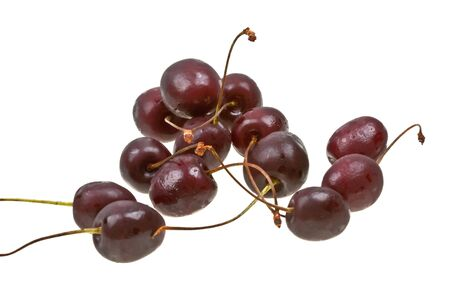 Sweet cherry isolated on white background Stock Photo - 6802794