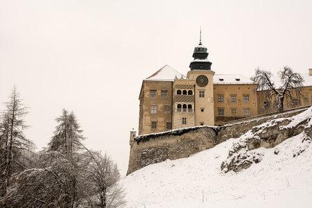 poland: Castle in Pieskowa Skala (Poland)