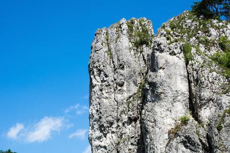 poland: Rocks in Bolechowicka Valley (Poland)