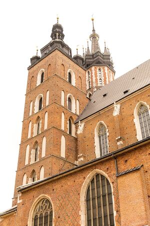 St. Mary`s Basilica in Krakow (Poland)