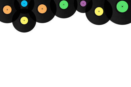 Gramophone vinyl record background