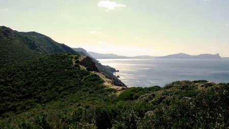 mediterraneo: MARINE LANDSCAPE Stock Photo