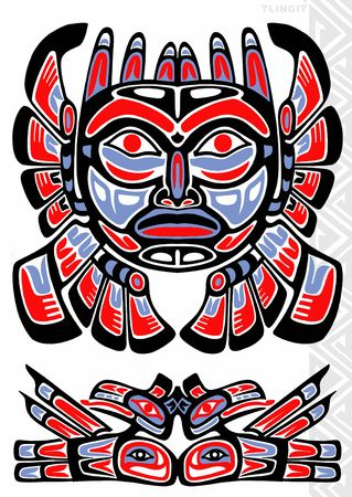 totem: TATTOO FLASH Stock Photo
