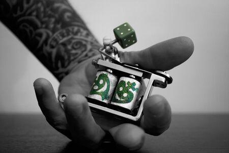 tattoo machine Stock Photo - 5091171
