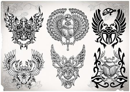 タトゥー フラッシュ私が作った 写真素材