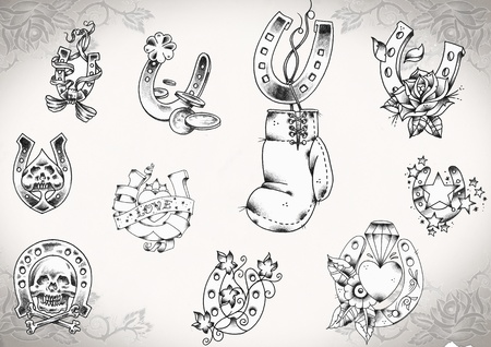 tattoo flash  photo