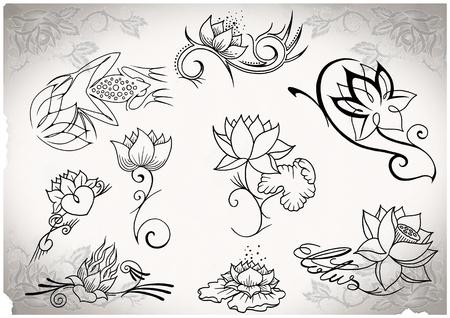 私は著作権が作ったタトゥー フラッシュ