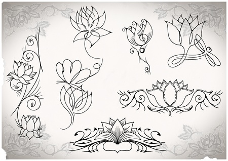 tattoo flash made by me, no copyright Stock Photo - 10291076