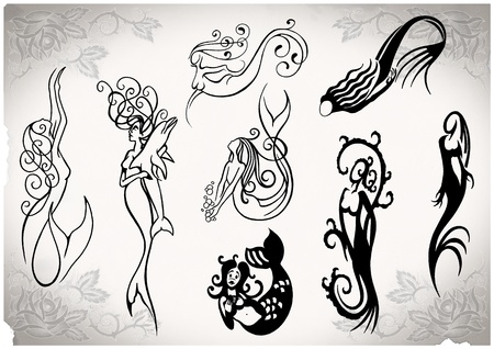 tattoo flash made by me, no copyright photo