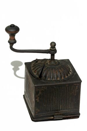jalopy: old coffee grinder