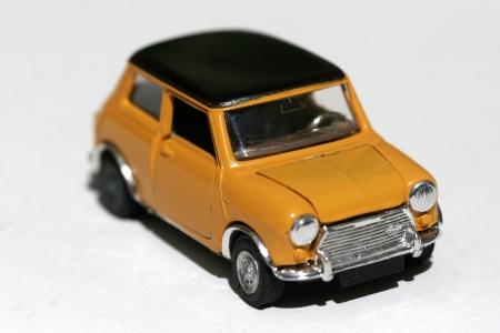 yellow car: vintage car toy