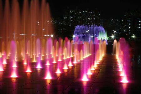 ragsac: Night Fountain