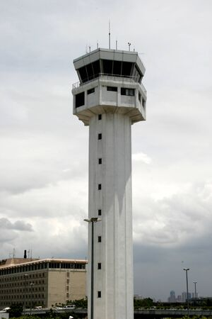 ragsac: control tower Stock Photo