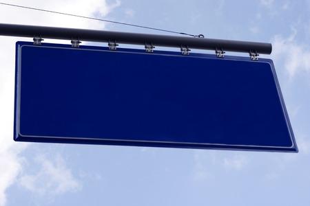 adboard: Blank Road Sign