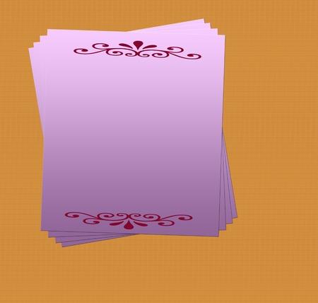 ragsac: Blank Invitation Card