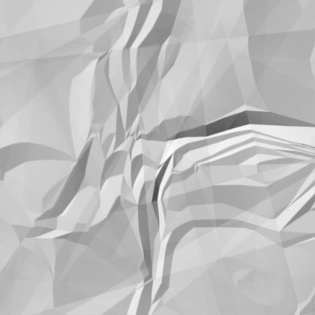 Crumpled and stretched out paper- 3D digital Stock Photo - 2096172