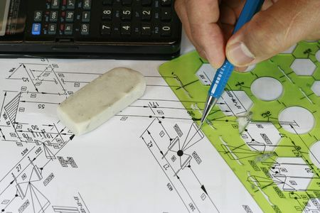 Isometric Drawing Stock Photo - 2170678