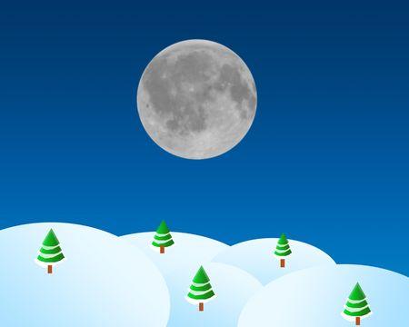 Christmas card illustration illustration