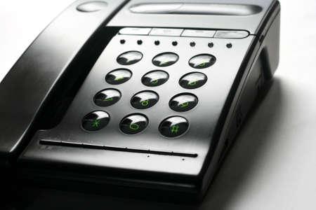 ragsac: Dark Telephone  Stock Photo