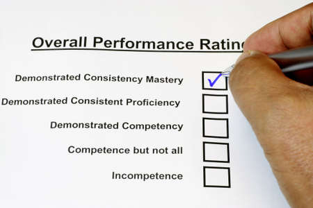 inconsistent: Overall Performance Rating 2