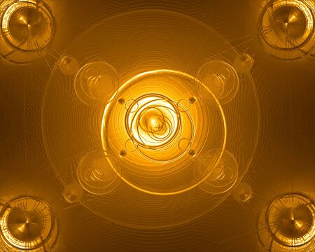 cleanse: Golden Liquid Plasma High resolution 3d effect