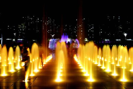 ragsac: 3 series of Fountain at Night