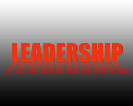 Leadership 3D Text Stock Photo - 2549897
