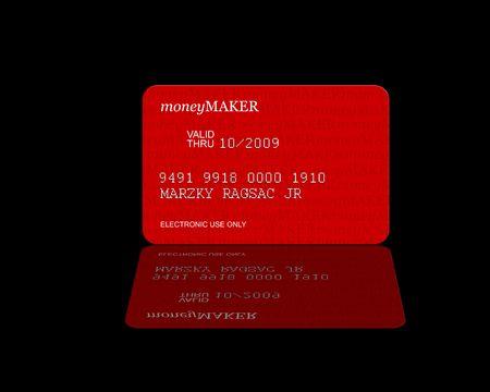 moneymaker: Credit Card  Moneymaker